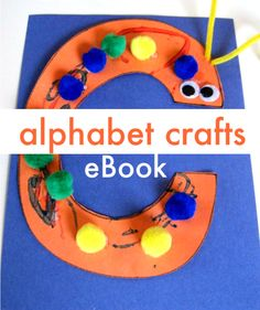 Have fun & create the letters of the alphabet with easy crafts. Book suggestions too. http://www.notimeforflashcards.com/2010/03/ebook.html