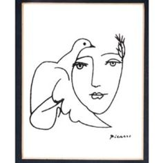 Picasso ink drawing I would like as a tattoo