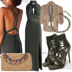 Antique Beauty   #fashion #mode #look #outfit #style #stylaholic #sexy #dress #trend