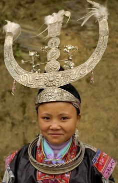 The Miao live primarily in southern China, in the provinces of Guizhou, Hunan, Yunnan, Sichuan, Guangxi, Hainan, Guangdong, and Hubei. Some members of the Miao sub-groups, most notably the Hmong people, have migrated out of China into Southeast Asia (northern Vietnam, Laos, Burma (Myanmar) and Thailand). #world_cultures