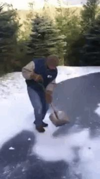 Shovel-Slide. NO... NO... NOPE! NOOOOO!
