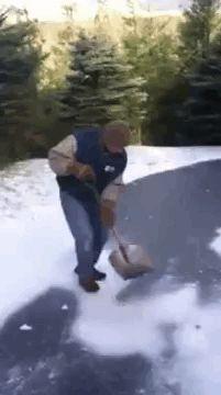 Shovel-Slide. NO... NO... NOPE! NOOOOO!