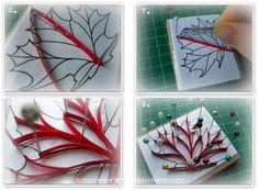 Make a maple leaf ArtLife: My tutorials in English
