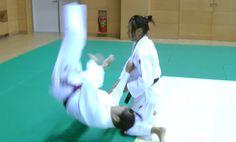 Judo - Uki Otoshi - 浮落