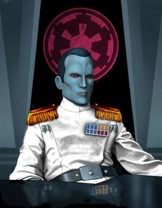 Thrawn is sober-minded following his encounter with the Bendu of Tython.
