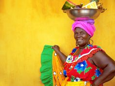A Brief History of African Presence in Colombia. Today, Colombia is a country that hosts the third largest population of African descended people outside of the African continent, and the. We Are The World, People Around The World, Afro, Trip To Colombia, African Traditions, African Diaspora, World Of Color, Color Inspiration, Painting Inspiration
