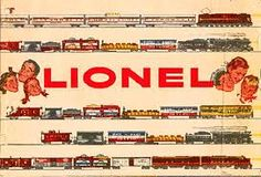 1955 Lionel Trains ad