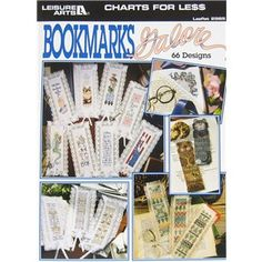 Leisure Arts Bookmarks Galore Cross Stitch Book | Shop Hobby Lobby