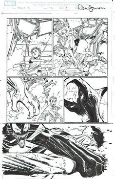 Amazing Spider-Man 570 pg 4 by Romita Jr./Janson --- VENOM vs ANTI-VENOM! Comic Art
