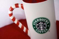 Starbucks candy cane mug - my fave