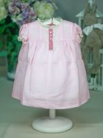 baby girl with pink dress style summer flight classic baby clothes