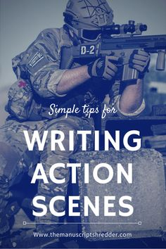 Writing Action Scenes NaNoWriMo day 17 - The Manuscript Shredder Creative Writing Tips, Book Writing Tips, Writing Resources, Writing Help, Writing Ideas, Improve Writing, Writing Workshop, Writing Skills, Writing Images