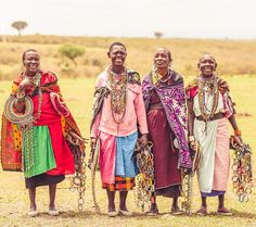 Maasai women take upon an amount of responsibilities far greater than of a man's (. Greater Than, No Response, Portrait Photography, Beautiful People, Kimono Top, Around The Worlds, Traditional, Instagram Posts, Women
