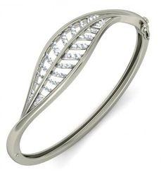 The Lyaif Bangle College Search, Diamond Bangle, Diamond Sizes, Bangles, Bracelets, Indian Jewelry, Round Diamonds, Jewelry Design, Women Jewelry