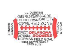 University of Oklahoma Football Shirt