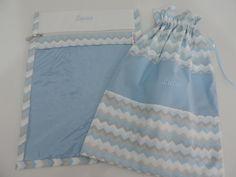 Kit Envelope Maternidade e saquinho roup no Elo7   Verinha e Seus Mimos (887B91)