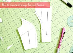 A can't-miss tutorial if you want to learn to turn darts into princess seams. I couldn't have done it without this.