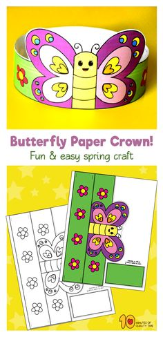 Spring-Butterfly-Paper-Crown-