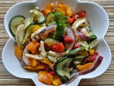 w mojej kuchni: Sałatka z koprem włoskim