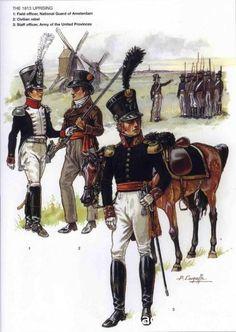 Colonnello olandese, civile ribelle e ufficiale di staff olandese