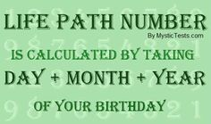 Life Path Number Numerology is very powerful in the way that it identifies both the helpful and less helpful aspects of your personality; it challenges you to achieve a balance between the two and seek self-fulfilment.