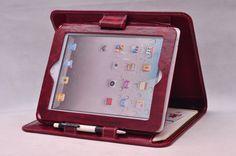 Hallo vriend Goede dag. Dit geval is in het ontwerp van een stand, evenals de portefeuille voor uw gebruik. :) De grootte is nu voornamelijk voor iPad 2, als u nodig hebt, zullen we veranderen en aanpassen van de maten voor uw iPad 1. Meer details: Materiaal: Top graan leer Kleur: wijn-rood Voorwaarde: volledig gloednieuwe door onze handgemaakte Grootte: 285 * 220 * 20 mm Zakken met laptop ruimte, voor uw kaarten en pen lus! De case is gemaakt voor uw bestelling, dus als een andere eis ...
