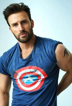 Chris Evans | There is just something special about him, beyond his good looks, something unique <3<3<3 -B.R.