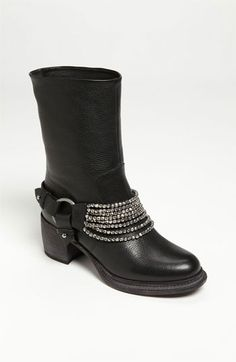 Love these also for motorcycle boots..Vera Wang Footwear 'Natasha' Boot available at #Nordstrom