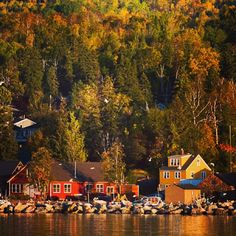 Grand Marais, MN in the Fall