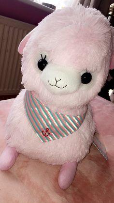 marine baby, alpaca , Kawaii, pastel