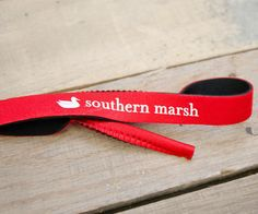 Southern Marsh Sunglass Strap in Red & White Southern Marsh, Red And White, Sunglasses, Sunnies, Shades, Eyeglasses, Glasses