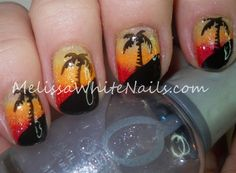 Nail art- Summer Nails