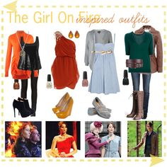 Katniss Everdeen inspired outfits from The Hunger Games