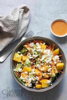 Summer Salad Recipes, Lunch Recipes, Vegetarian Recipes, Healthy Recipes, Healthy Nutrition, Healthy Eating, Healthy Food, Vegan Diner, Tapas