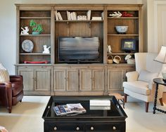 Living Room TV Console Design, Pictures, Remodel, Decor and Ideas - page 11