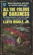 Fiction PB: ALL THE COLORS OF DARKNESS by Lloyd Biggle Jr. 1965.