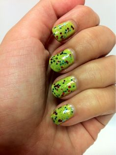Polish My Pretty Nails: From the Vault: Essence Lime Up! and Jordana My Superstar