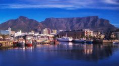 Table Mountain in Cape Town, South Africa http://www.savisas.com/