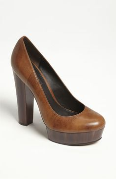 Leather & Wood    Rachel Zoe 'Leila' Pump | Nordstrom