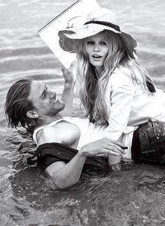 Anna Ewers & Charlie Hunnam for US Vogue December 2014