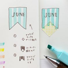 Bullet Journal Banner, Bullet Journal 2020, Girls Night Crafts, Craft Night, Handwriting, Bujo, Notebook, Notes, Study