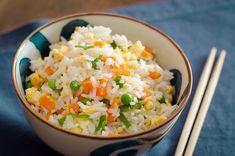 ARROZ FRITO CHINES http://www.entrepratosecopos.com.br/receitas/acompanhamentos/arroz-frito-chines