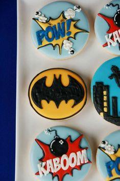 Vintage Superhero Birthday Party Ideas | Photo 19 of 43