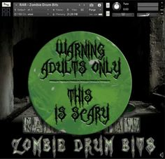 Zombie Drum Bits KONTAKT FREE | 29 OCTOBER 2016 | 125.82 MB Rattly and Raw has released Zombie Drum Bits, a free zombie sound drum kit for Native Instrume