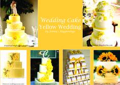 si vous rêvez d'un #mariage #solaire, sous les sunlights des #tropiques.... mais en Belgique (et oui!), le meilleur remède est une #décoration dédiée au #jaune ! Avec le #bleu clair, il vous donnera l'impression d'être déjà à la #plage :D Cette épingle est dédiée au wedding cake. #jennyshappenings #weddingplanner #eventplanner