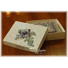Heartfelt Creations - Butterfly Box and Card Set Project