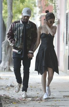 SELENA GOMEZ and The Weeknd Out and About in Buenos Aires 03/28/2017