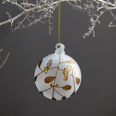 Ornaments: Fancy Food, Garden + Veggies, Woodland Glass, and Pinecones - Terrain