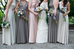 The bride's wearing Rivini. Photography: Orchard Cove Photography - orchardcovephotography.com  Read More: http://www.stylemepretty.com/connecticut-weddings/2014/01/17/romantic-old-lyme-wedding/
