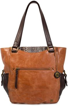 The Sak Kendra Leather Tote Bag on shopstyle.com